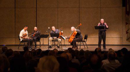 Robert Greenberg and the Alexander String Quartet
