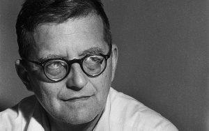 Dmitri Shostakovich in 1960
